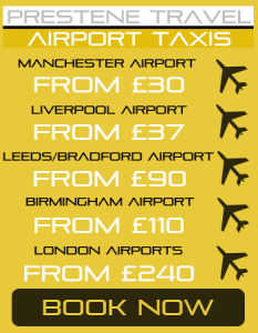 Airport Taxi Northwich
